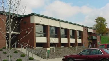 east side of vanover building