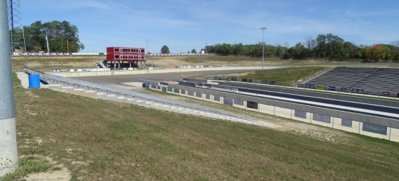 grand stand of Dragway 42