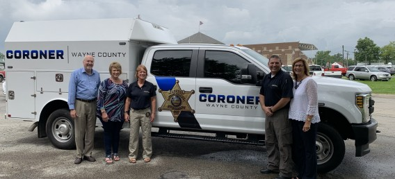 New Wayne County Coroner Vehicle