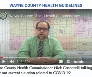 Wayne County Health Commissioner Nick Cascarelli