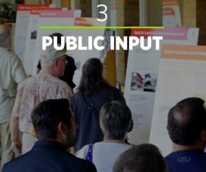 People looking at comprehensive plan