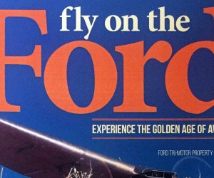 Fly on the Ford