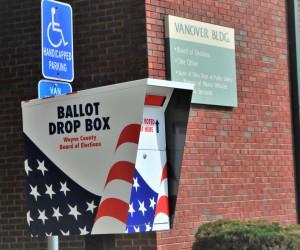 Wayne County Board of Elections Drop Box