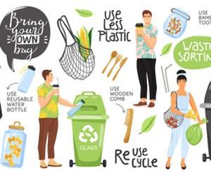 Image displaying alternate items to plastic