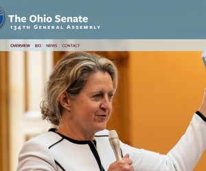 Screenshot of Senator Kristina Roegner