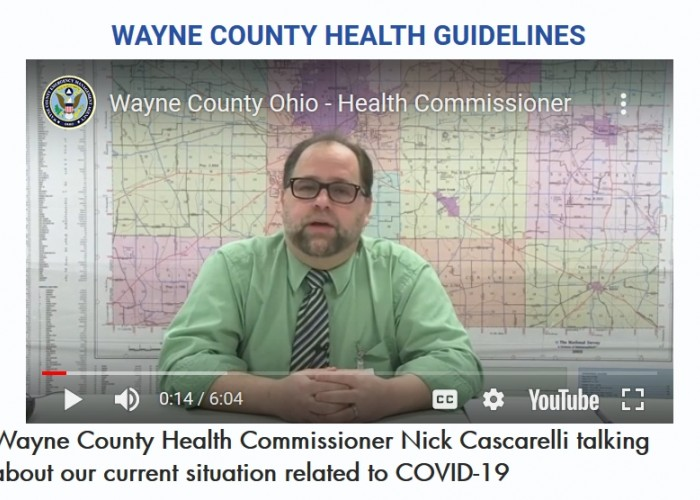 Wayne County Health Commissioner Nick Cascarelli