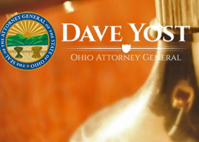 Attorney General Dave Yost Website Screenshot