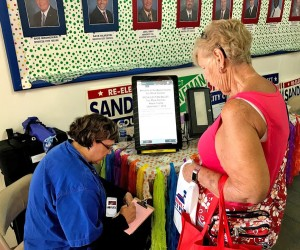 A Visitor Votes On Their Favorite Fair Activities