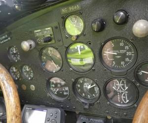 Instrument Panel Inside Ford Tri-motor