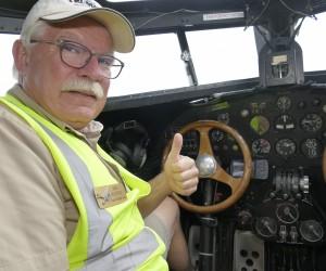 Pilot Inside Ford Tri-Motor