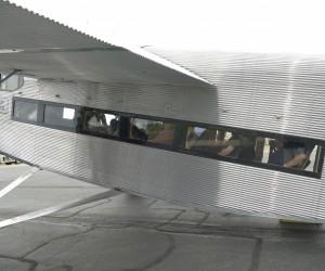 Passengers Inside Ford Tri-motor