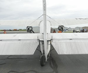Rear View Of Ford Tri-motor